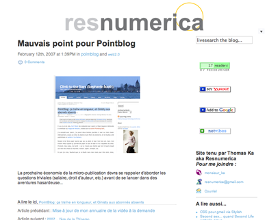 New design pour Resnumerica